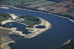 Консервация озера Guelph Стоковое Изображение RF