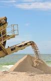 консервация пляжа стоковое изображение rf