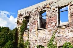 Консервация старых руин стоковые изображения rf