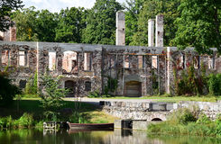 Консервация старых руин стоковая фотография rf