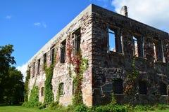 Консервация старых руин стоковые изображения