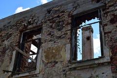 Консервация старых руин стоковые фотографии rf