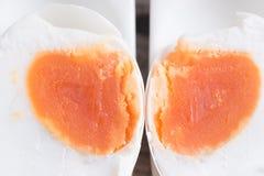 Консервация с солью меню яичка посоленное яичко утки стоковые изображения rf