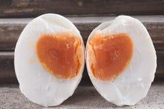 Консервация с солью меню яичка посоленное яичко утки стоковая фотография rf