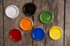 консервирует вектор краски иллюстрации Стоковые Фото