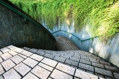 консервируя парк singapore форта стоковые фотографии rf