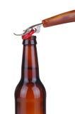 консервооткрыватель бутылки пива Стоковые Фото