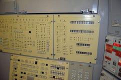 Консоль управления старта Бункер для команды старта SS-18 Satan стоковое изображение rf