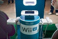 Консоль Nintendo на Cartoomics 2014 стоковые фото