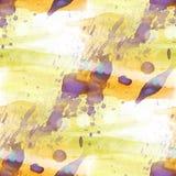 Конспекта краски текстуры воды картины Bokeh pur красочного безшовное Стоковые Изображения