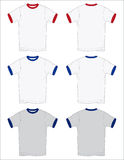 конспектирует вектор рубашки t звонаря Стоковые Изображения