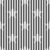 Конспект, безшовная геометрическая черно-белая картина, звезды Стоковое Изображение RF