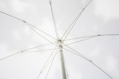 конспект белого зонтика Стоковое Изображение