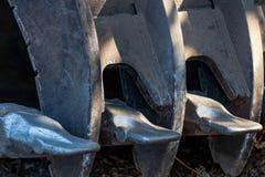 Конспект ведра лопаткоулавливателя ветроуловителя Backhoe стоковые фотографии rf