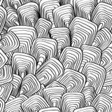Конспект, вектор, безшовное, предпосылка линий и прямоугольники Стоковое Изображение