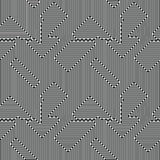 Конспект выравнивает безшовную картину Оптическая иллюзия Стоковая Фотография