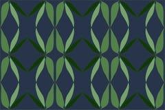 Конспект выходит картина предпосылки в зеленый и голубой серый цвет Стоковое фото RF