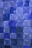 Конспект в тенях сини Стоковая Фотография