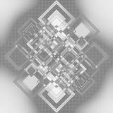 Конспект геометрии Стоковая Фотография RF