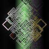 Конспект геометрии Стоковое фото RF