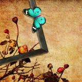 Конспект года сбора винограда искусства бабочки Стоковые Фото