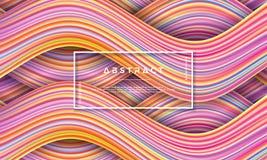 Конспект, динамическая и текстурированная, современная красочная предпосылка подачи для вашего элемента дизайна и другие иллюстрация штока