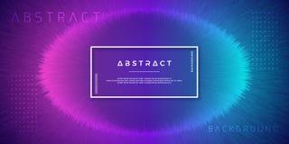 Конспект, динамические, современные предпосылки для ваших элементов дизайна и другие, с пурпурным и светлым - голубой цвет градие бесплатная иллюстрация