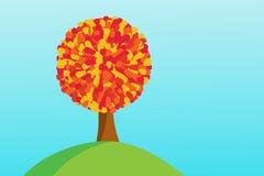 Конспект дерева осени Стоковые Фотографии RF