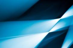 Конспект линии предпосылки голубой и белый Стоковое фото RF