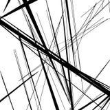 Конспект, линии сложной формы картина, предпосылка Monochrome geomet Стоковая Фотография