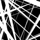 Конспект, линии сложной формы картина, предпосылка Monochrome geomet Стоковое Фото