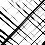 Конспект, линии сложной формы картина, предпосылка Monochrome geomet Стоковое Изображение