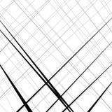 Конспект, линии сложной формы картина, предпосылка Monochrome geomet Стоковое фото RF