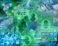 Конспект интернета Стоковые Фотографии RF