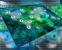 Конспект интернета Стоковое фото RF