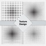 Конспект искусства шипучки поставил точки комплект предпосылки Стоковая Фотография RF