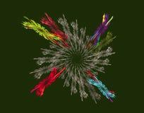 Конспект и круг пшеницы бесплатная иллюстрация