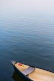 Конспект - каное на реке Стоковая Фотография