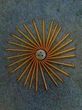 Конспект карандаша Стоковое фото RF