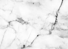 Конспект картины белой мраморной текстуры предпосылки естественный каменный с высоким разрешением Стоковые Изображения RF