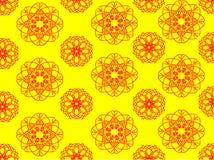 Конспект картины желтый Стоковое Изображение RF