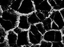 Конспект картины черной мраморной текстуры предпосылки естественный каменный с высоким разрешением Стоковое Изображение