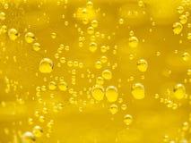Конспект клокочет желтый цвет Стоковое фото RF