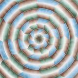 Конспект концентрических кругов Стоковая Фотография RF