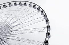 Конспект колеса ferris стоковые изображения rf