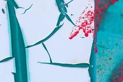 Конспект краски шелушения Стоковое Изображение RF