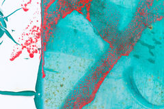 Конспект краски шелушения Стоковое фото RF