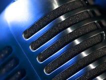 Конспект макроса микрофона Стоковая Фотография RF