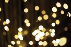 Конспект мерцал звезды предпосылки рождества Стоковые Изображения RF