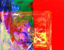 Конспект на стекле Стоковая Фотография
